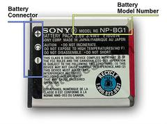 Sony Cybershot Battery