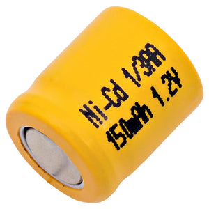 Image of 1/3AA NiCd 1.2 VOLT 150mAh Industrial battery