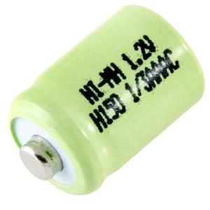 Image of 1/3AAA Size Rechargeable Battery 150 mAh NiMH 1.2V Button Top Cell - Ultralast®1/3AAA-150NM-NT