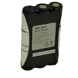 Image of Motorola HNN9027 2-Way Radio Compatible NiCd Battery - DASBP9027