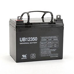 UB12350 12V / 33-35Ah Sealed Lead Acid Battery with NB Terminal - D5722