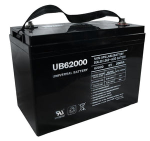 Image of SLA Battery UB62000 (Grp 27 Case) 6V 200Ah