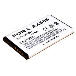 Image of LG Cell Phone Compatible Li-Ion Battery - CWLGAX585LB