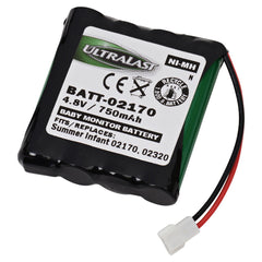 Summer Infant Baby Monitor Compatible NiMH Battery - DA BATT-02170