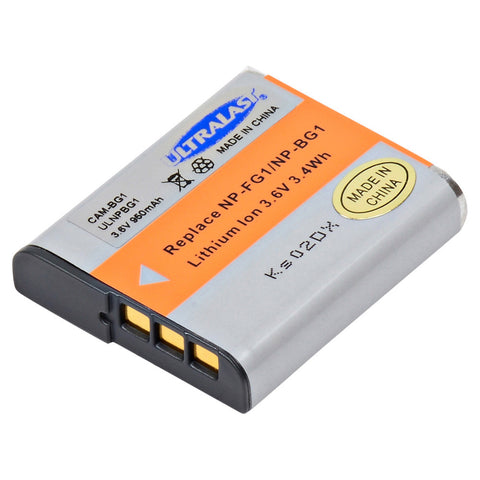 Ultralast Sony Digital Camera Compatible Li-Ion Battery - ULNPBG1