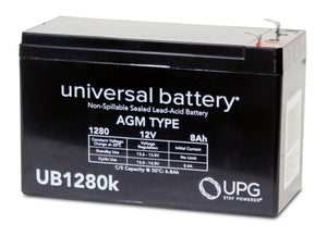 Image of SLA Battery UB1280 12V 8Ah