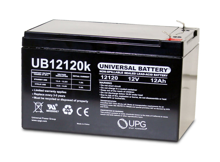 Sealed Lead Acid Batteries/AMG UB12120 SLA Battery 12V 12Ah / Terminal F1 - D5744