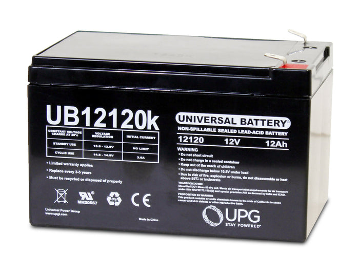 Sealed Lead Acid Batteries/AMG UB12120 SLA Battery 12V 12Ah / Terminal F2 - D5775
