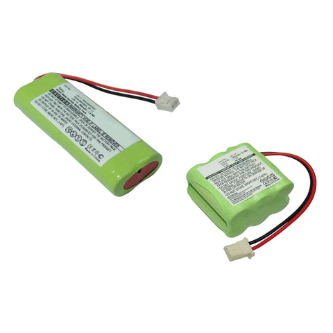 2pc Transmitter & Receiver Exell Batteries for Dogtra 1200NC/1100NC Collar Transmitter/Receiver