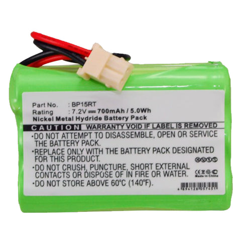Dog Collar Battery EB-DC7-X Replaces DC-7, BP15, BP15RT