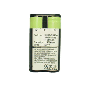 Panasonic/V-Tech Cordless Phone Battery Replaces JTB290 V-Tech VSB, HHR-P546 | Ultralast UL924