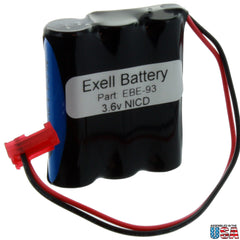 Emergency Lighting Battery Fits Sure-Lites 026-148, 26-148, LPX70RWH
