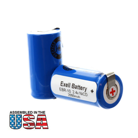 Razor Battery EBR-10 For Remington Razors 5BF1 & XLR 3000
