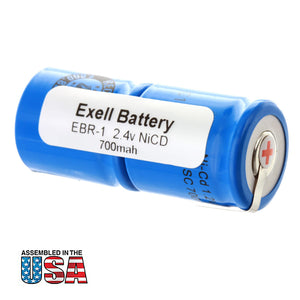 Image of Razor Battery EBR-1 For Norelco, Eltron, Remington Razors