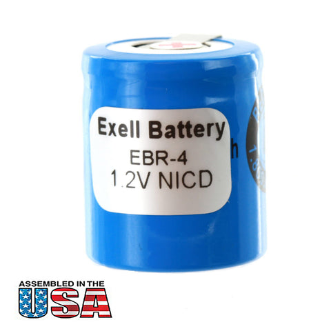 Razor Battery EBR-4 For Norelco Razors HP1323, HP1327, 800RX, 900RX