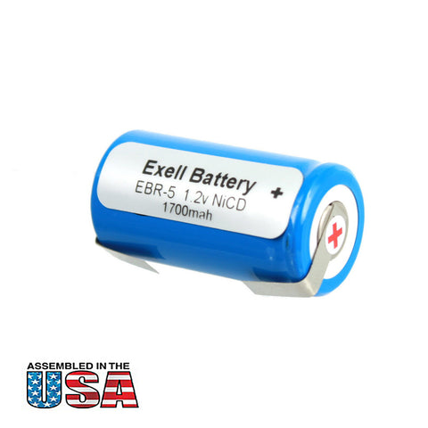 Razor Battery EBR-5 For Norelco Razors HP 1327D & HP 1328