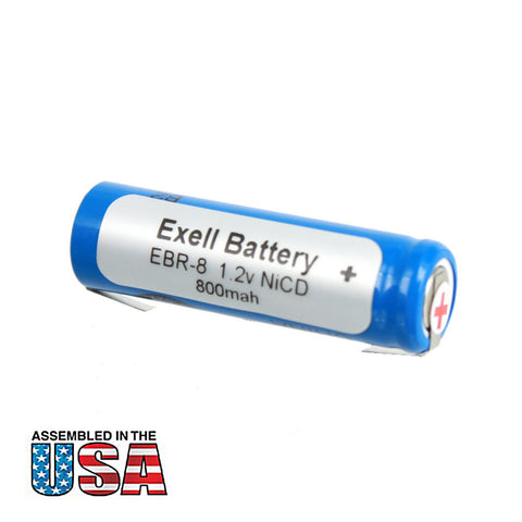 Razor Battery EBR-8 For Braun 2500, 2501, 2505, 2514, 2515, 2520, 2525