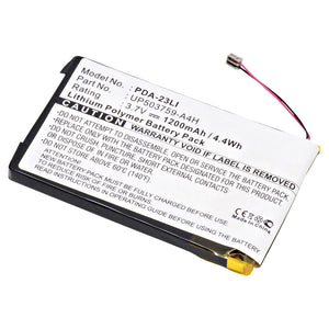 Sony PDA Compatible Li-Ion Battery - DA PDA-23LI