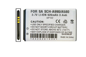 Image of Samsung SCH A990 Cell Phone Compatible Li-Ion Battery