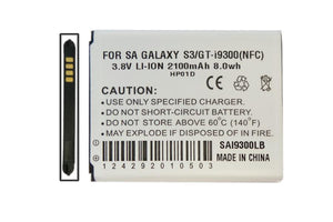 Image of Samsung Galaxy S3 Battery with NFC