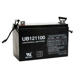 Image of SLA Battery UB121100 (Group 30H) 12V 110Ah