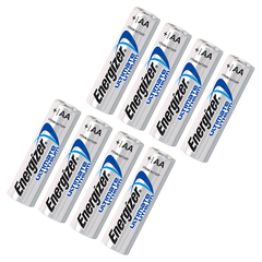 Energizer Ultimate Lithium AA 8-Pack  1.5 Volt Lithium iron disulfide (LiFeS2) Battery - L91
