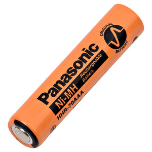 Image of Panasonic AAA NiMH 1.2 VOLT 700mAh Industrial battery Flat Top
