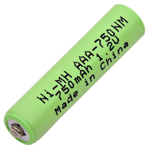 Image of AAA NiMH 1.2 VOLT 750mAh Industrial battery