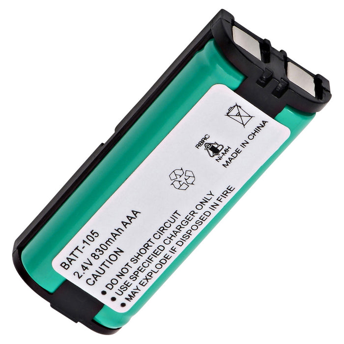 Panasonic HHR-P105 Cordless Phone Compatible Battery