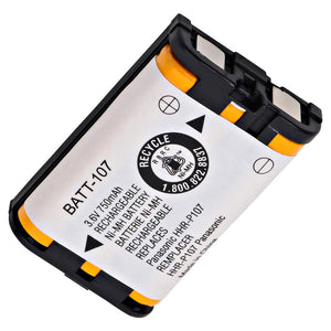 Image of Panasonic HHR-P107 JTB108 Cordless Phone Compatible Battery