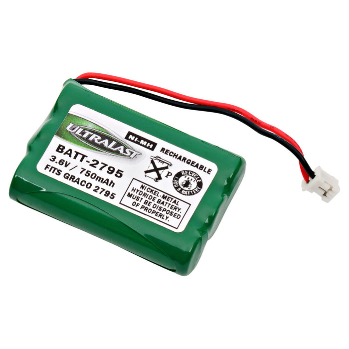 Baby Monitor Battery EBBM-2795 Replaces BATT-2795, CS-GR2795MB