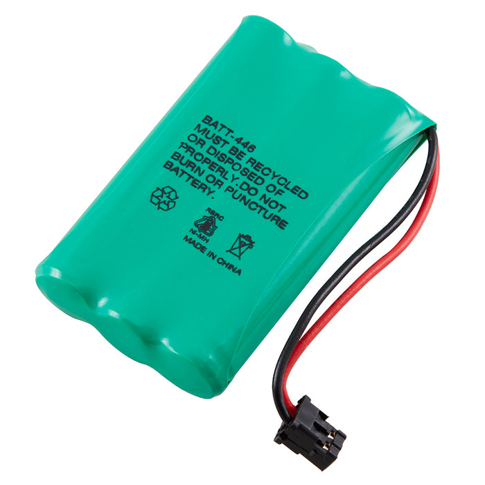Radio Shack / Uniden BT- 446 Cordless Phone Compatible NiMh Battery