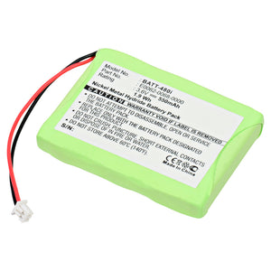 Image of Cordless Phone Battery BATT-480I Replaces Aastra Telecom - 23-0022-00