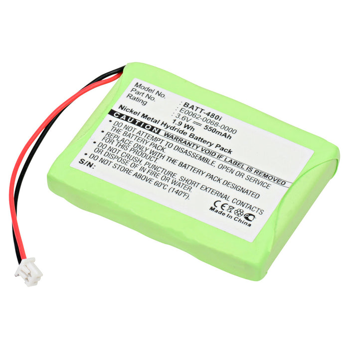 Cordless Phone Battery BATT-480I Replaces Aastra Telecom - 23-0022-00