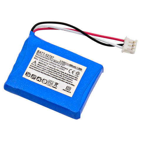 Cordless Phone Battery BATT-52707 Replaces Thompson - 5-2707