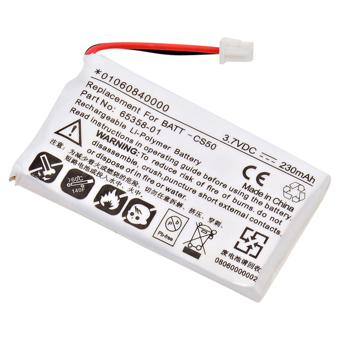 Replacement Battery for Plantronics Headsets