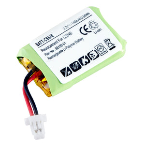 Image of BATT-CS540 - Replacement Battery for Plantronics Savi Headsets CS540 and CS540A