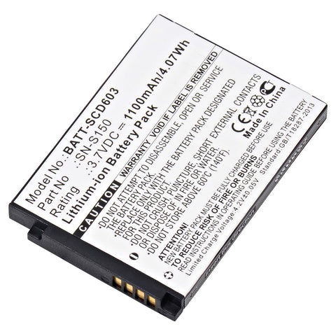 Baby Monitor Battery BATT-SCD603 Replaces Philips - SN-S150