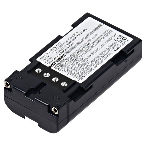 Barcode Scanner Battery BCS-12LI Replaces Casio - CA54200-0090