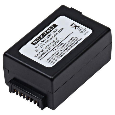 Barcode Scanner Battery BCS-7527 Replaces Psion - 1050192-002