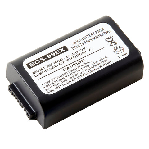 Barcode Scanner Battery BCS-99EX Replaces Honeywell - 99EX-BTSC-1