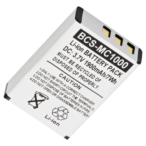 Barcode Scanner Battery BCS-MC1000 Replaces Symbol - 55-060126-02