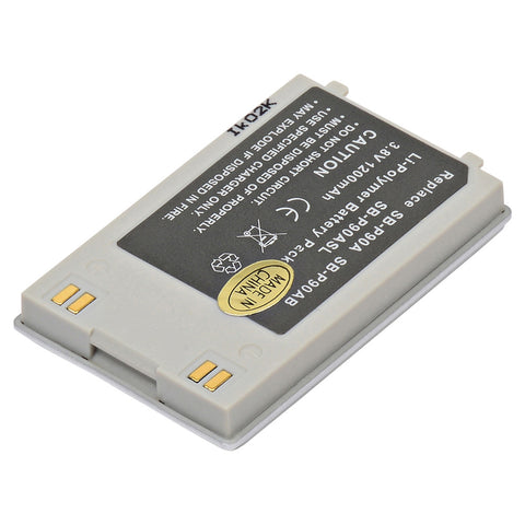 Digital Camera Battery CAM-SBP90 Replaces Empire - BLI-282, Lenmar - LISGP90
