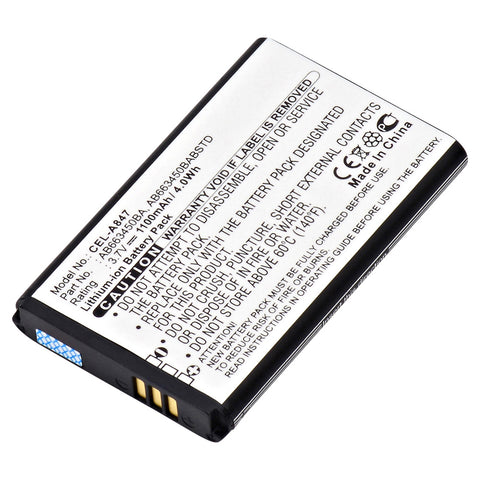 Cell Phone Battery CEL-A847 Replaces Samsung - AB663450BA