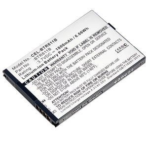 Cell Phone Battery CEL-BTR811B Replaces Pantech - BTR811B
