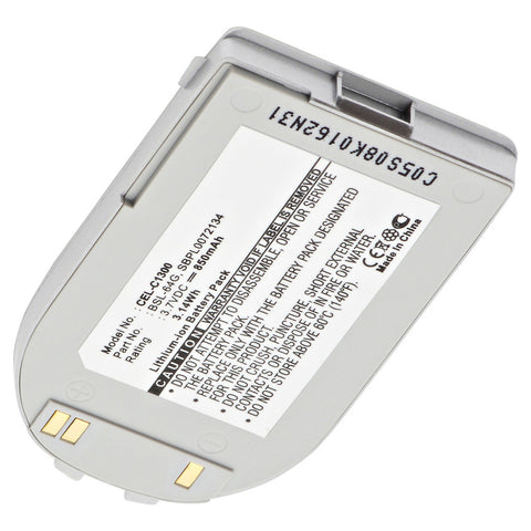 Cell Phone Battery CEL-C1300 Replaces LG - SBPL0072134
