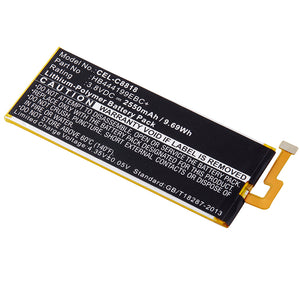Image of Cell Phone Battery CEL-C8818 Replaces Huawei - HB444199EBC+