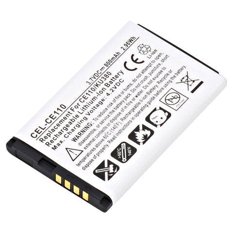 Cell Phone Battery CEL-CE110 Replaces LG - SBPL0096602