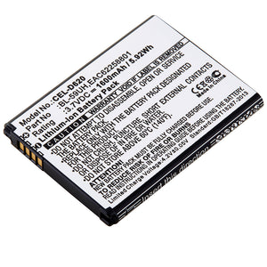 Image of Cell Phone Battery CEL-D620 Replaces LG - BL-59UH