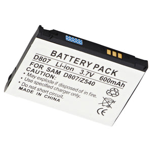 Image of Cell Phone Battery CEL-D807 Replaces Samsung - AB503445AA